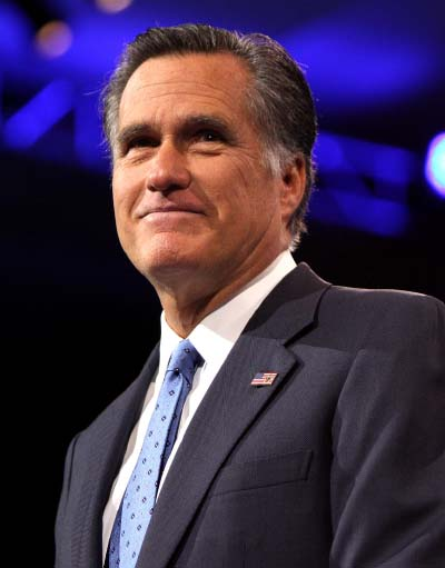 Portrait of Mitt Romney